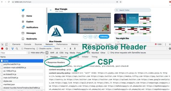 Image #2 CSP Header