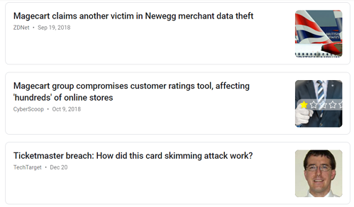 magecart headlines